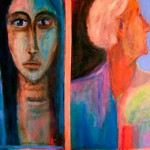 Before and After - 2007 - acrylique sur panneau de bois - 100.5cm x 50.5cm