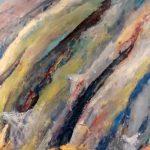 Angels of the Water, 2016 Huile sur terraskin marouflé sur bois 76.20cm x 76.20cm (vendu)