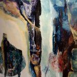 Akal, 2016 Mixte sur terraskin marouflé sur toile de bois 101.60 cm x 71.12cm (vendu)