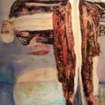 The Zoo Dream 1, 2016 Huile sur terraskin marouflé sur toile de bois 76.19cm x 101.59cm