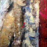 Departure 1, 2016 Huile sur toile 76.20cm x 50.80cm