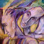 Trahison 2009 - Mixte sur toile - 60,9cm x 91,4cm