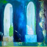 Perception of Light III, 2015 - Huile sur papier marouflée sur bois - 63cm x 92cm