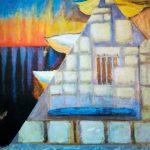 Ange à la pyramide, 2014 – Mixte - 92cm x 63cm